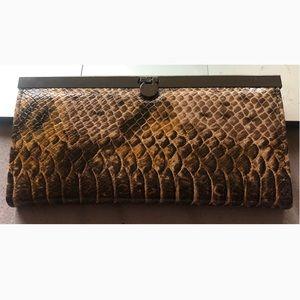 Snake pattern Wallet